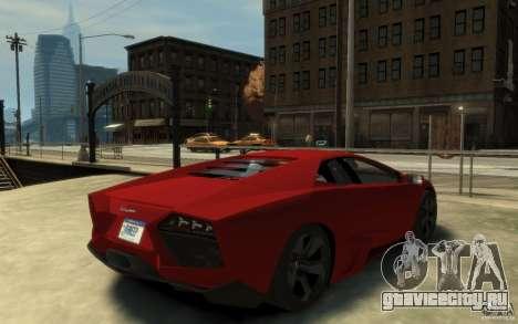 Lamborghini Reventon Coupe для GTA 4 вид справа