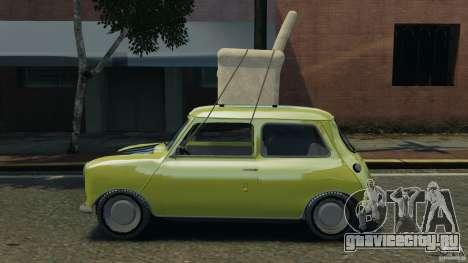 Mini Cooper для GTA 4 вид слева