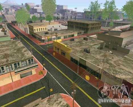 Новые Текстуры Лос-Сантоса для GTA San Andreas четвёртый скриншот