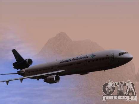 McDonnell Douglas MD-11 Garuda Indonesia для GTA San Andreas двигатель