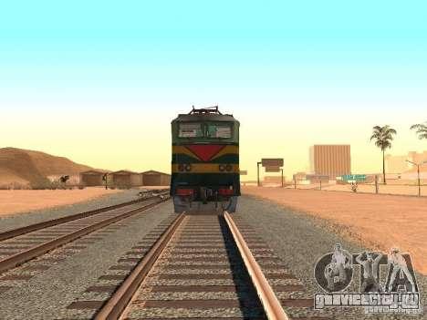 ЧС7 233 для GTA San Andreas вид сзади