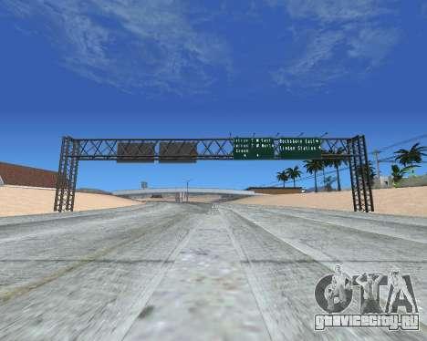 Дорожные указатели v1.2 для GTA San Andreas третий скриншот