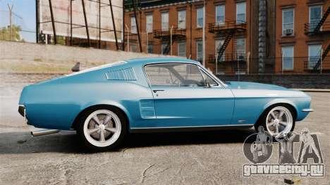 Ford Mustang Customs 1967 для GTA 4 вид слева
