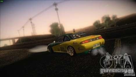 Nissan S14 для GTA San Andreas вид снизу