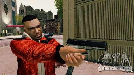Glock 18 Akimbo (черно-серый) для GTA 4 третий скриншот
