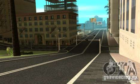 Новое дорожное покрытие (new surface) для GTA San Andreas третий скриншот