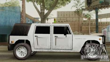 New Patriot HQ для GTA San Andreas вид слева