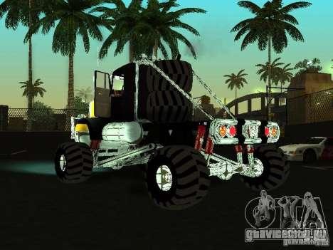Kenworth W900 Monster для GTA San Andreas вид слева