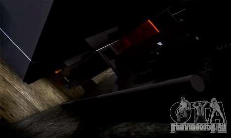Volvo F10 для GTA San Andreas вид изнутри