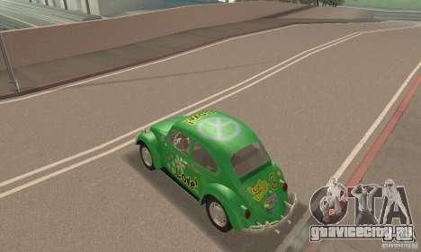 Volkswagen Beetle 1963 для GTA San Andreas салон