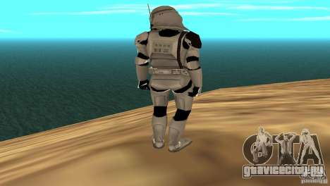 Commander Bacara для GTA San Andreas четвёртый скриншот