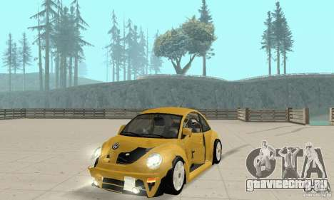 Volkswagen New Beetle GTi 1.8 Turbo для GTA San Andreas вид сбоку