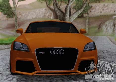 Audi TT-RS Coupe для GTA San Andreas вид справа