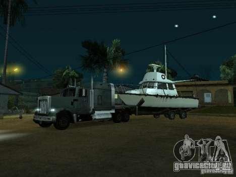 Прицеп для лодок для GTA San Andreas вид слева