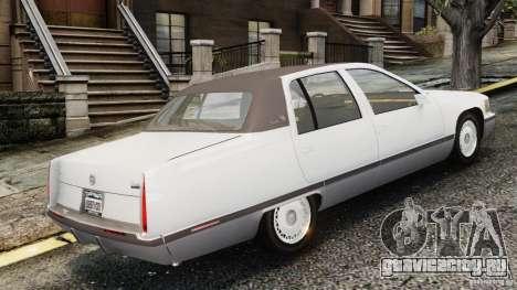 Cadillac Fleetwood 1993 для GTA 4 вид слева