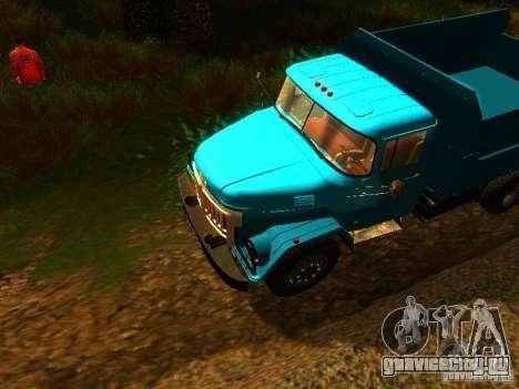 ЗиЛ 131 Амур для GTA San Andreas вид изнутри