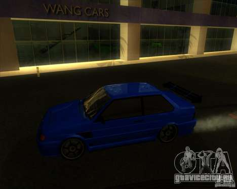 ВАЗ 2115 coupe для GTA San Andreas вид слева