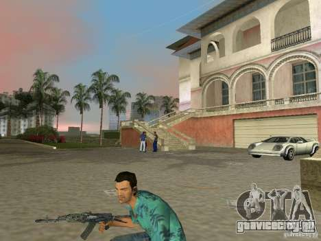Улучшенный Пак Отечественного Оружия для GTA Vice City четвёртый скриншот
