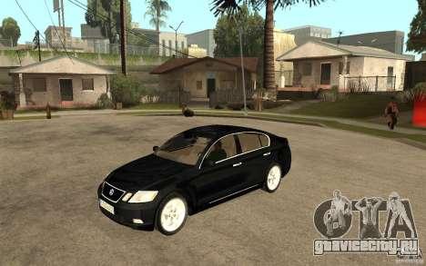 Lexus GS430 2007 для GTA San Andreas