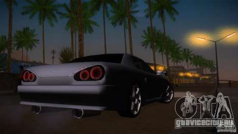 Elegy Drift для GTA San Andreas вид сбоку