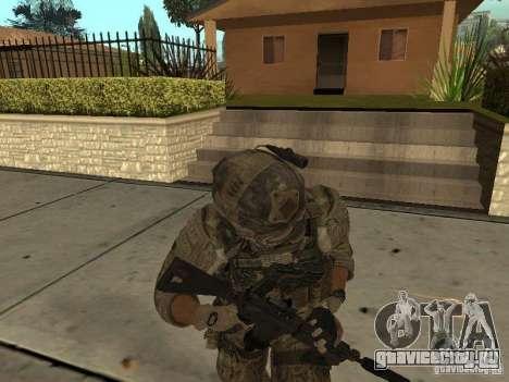 M4A1 c ACOG из CoD MW3 для GTA San Andreas четвёртый скриншот