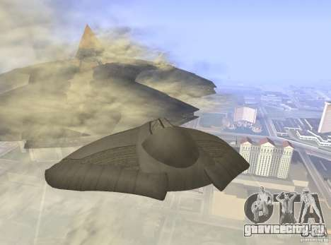 Death Glider для GTA San Andreas вид справа