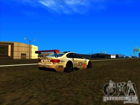 BMW M3 GT ALMS GT2 Series для GTA San Andreas вид слева