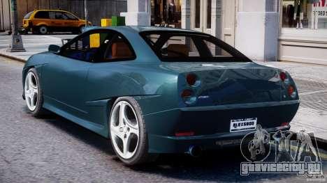 Fiat Coupe 2000 для GTA 4 вид справа