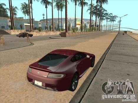 Aston Martin v8 Vantage n400 для GTA San Andreas вид слева