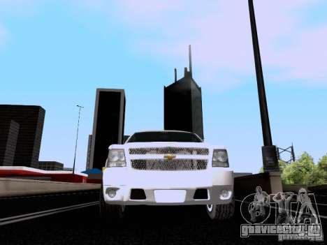 Chevrolet Tahoe LTZ 2013 для GTA San Andreas вид сбоку
