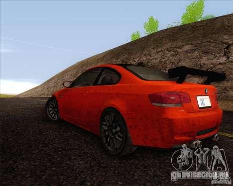 BMW M3 GT-S для GTA San Andreas вид справа
