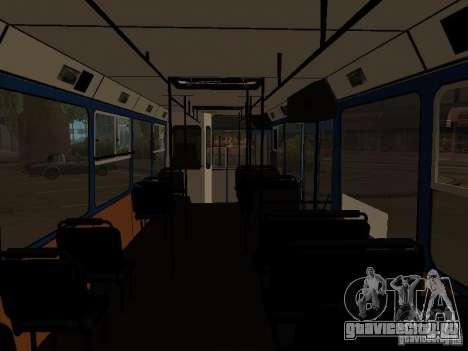 ЯАЗ 5267 для GTA San Andreas вид сзади
