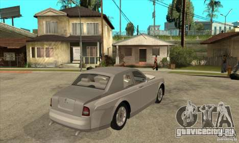 Rolls Royce Coupe 2009 для GTA San Andreas вид справа