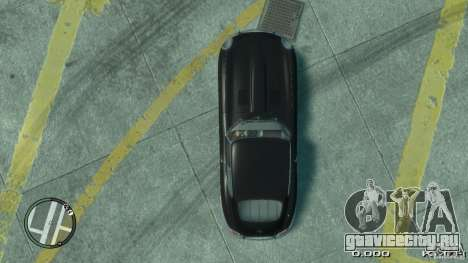 Jaguar XK E-type для GTA 4 вид справа