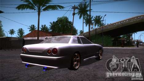 Elegy Drift для GTA San Andreas вид справа