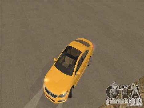 Volkswagen Passat CC для GTA San Andreas вид сбоку