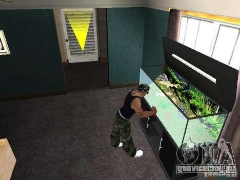 Аквариум для GTA San Andreas седьмой скриншот