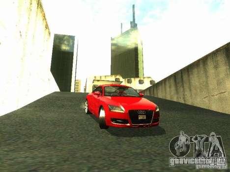 Audi TT 2009 v2.0 для GTA San Andreas вид слева