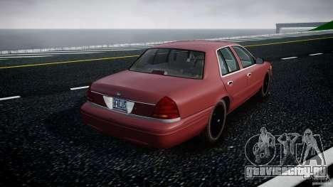 Ford Crown Victoria 2003 v.2 Civil для GTA 4 вид сбоку