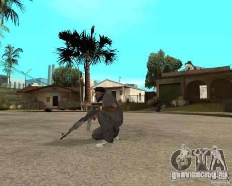 AK47 со штатным оптическим прицелом для GTA San Andreas третий скриншот