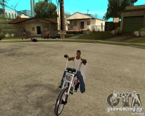 C&C chopeur для GTA San Andreas вид сзади