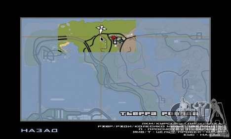 Расслабление в долине для GTA San Andreas четвёртый скриншот