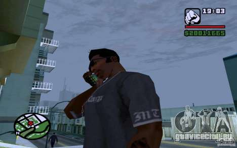 LG Optimus X2 для GTA San Andreas четвёртый скриншот