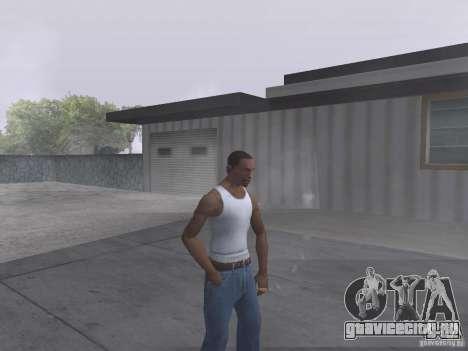 Возможность курить для GTA San Andreas второй скриншот