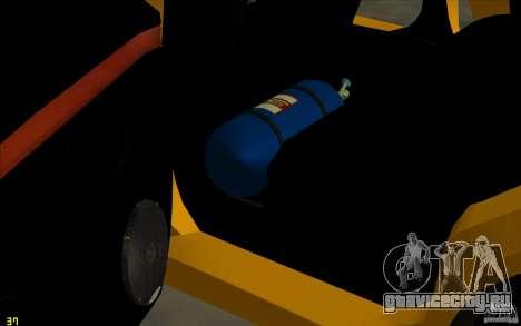 Peugeot 406 Taxi для GTA San Andreas вид сверху