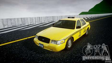 Ford Crown Victoria Raccoon City Taxi для GTA 4