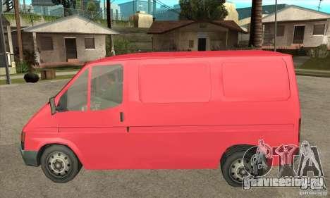 Ford Transit для GTA San Andreas