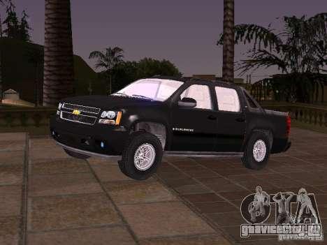 Chevrolet Avalanche для GTA San Andreas
