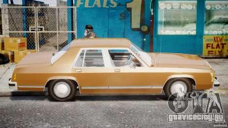 Ford Crown Victoria 1983 для GTA 4 вид слева