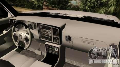Cadillac Escalade для GTA Vice City вид справа